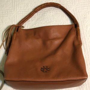 Tory Burch Taylor Hobo Leather Handbag